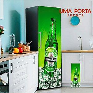 Adesivo Para Geladeira Cerveja Heineken