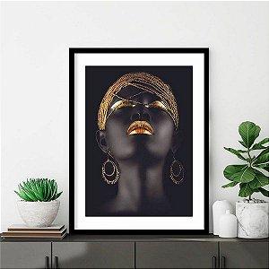 Quadro promoção (mulher negra) - venda Rô- @keila.10k - umjv5i