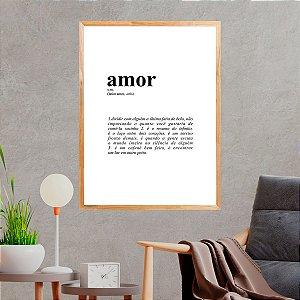 Quadro Decorativo Amor Meu