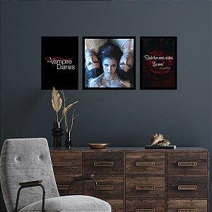 Kit de Placas Decorativas The Vampire Diaries