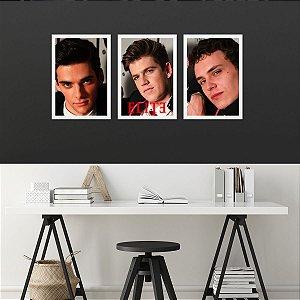 Kit de Placas Decorativas Elite Boys