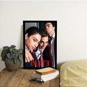 Placa Decorativa Elite Personagens Principais