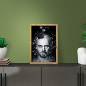 Placa Decorativa Série Breaking Bad Jesse Pinkman