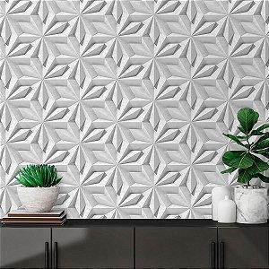 Papel de Parede 3D Geométrico Origami