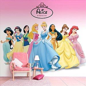 Papel de Parede Personalizado Princesas