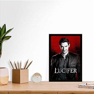 Placa Decorativa Lucifer Dark