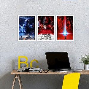 Placa Decorativa Star Wars Red