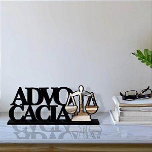 Palavra Decorativa Advocacia