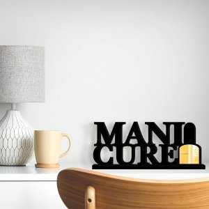 Palavra Decorativa Manicure