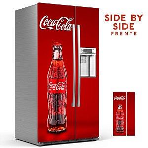 Adesivo para Geladeira Coca Cola