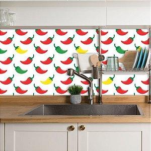Papel de Parede Para Cozinha Pimentas