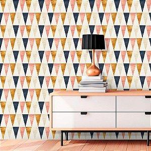 Papel de Parede Geométrico Triângulos Color