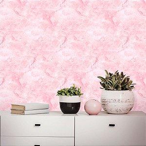 Papel de Parede Mármore Bubblegum Pink