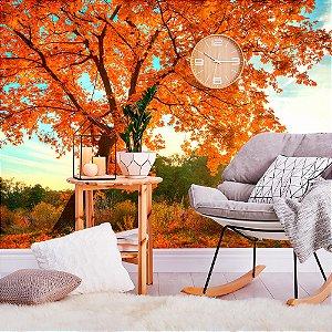 Papel de Parede Personalizado Outono