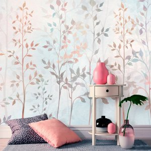 Papel de Parede Personalizado Forest Soft Color