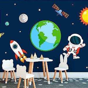 Papel de Parede Personalizado Astronauta