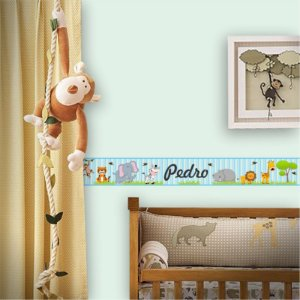 Faixa Decorativa Infantil Safari