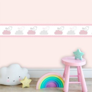Faixa Decorativa Infantil Passarinhos