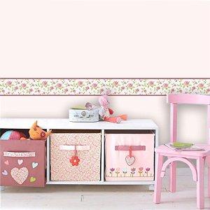 Faixa Decorativa Infantil Floral