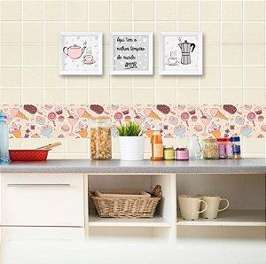 Faixa Decorativa para Cozinha Doces