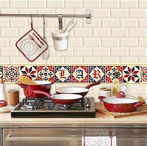 Faixa Decorativa para Cozinha Lar