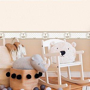 Faixa Decorativa Infantil Girafa Cute
