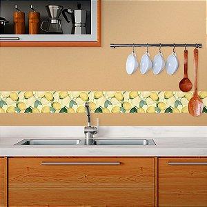 Faixa Decorativa Aquarela Limões