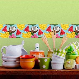 Faixa Decorativa Cozinha Tropical