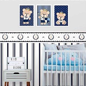 Faixa Decorativa Infantil Ursinho