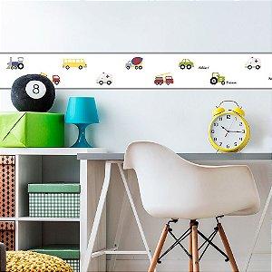 Faixa Decorativa Infantil Automóveis