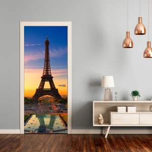 Adesivo Para Porta Torre Eiffel
