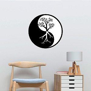 Adesivo de Parede Árvore Yin Yang