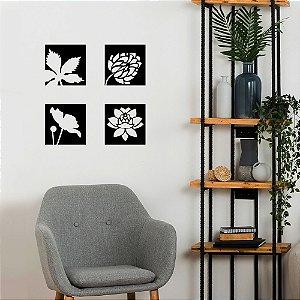 Adesivo Decorativo Quadros Flores