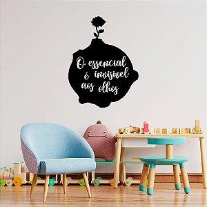 Adesivo Decorativo Frase O Pequeno Príncipe