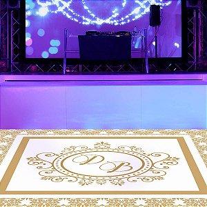 Adesivo Decorativo Para Pista de Dança Elegance