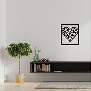 Quadro Decorativo Em PVC Coração
