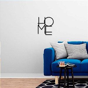 Palavra Decorativa de Parede Home