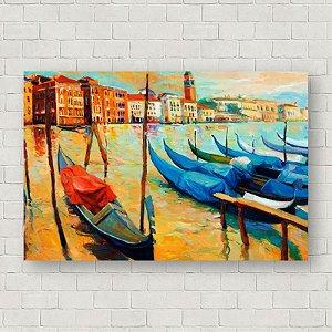 Quadro Decorativo Abstrato Veneza