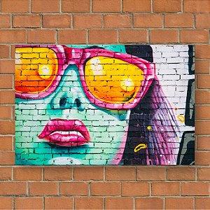 Quadro Decorativo Abstrato Summer