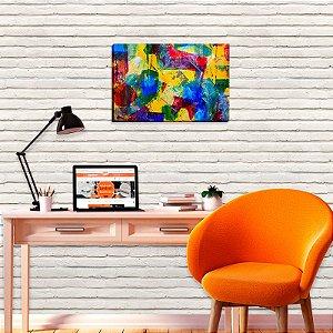 Quadro Decorativo Abstrato Maju