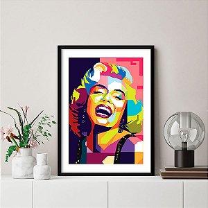 Quadro Decorativo Marilyn Monroe Pop Art