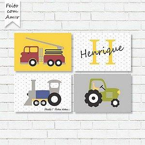 Placas decorativas 29 - Nome: Igor - Qtd: 1 - Tamanho: 30x20 MOLDURA BRANCA - Econômico - 10nql1