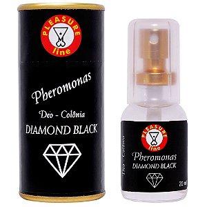 Perfume Pheromonas Masculino Diamond Black 20ml Pleasure Line