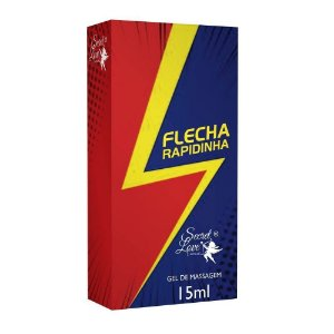 Flecha Rapidinha Gel Lubrificante Ice 15ml Secret Love