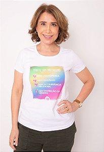 Camisa - Mentes Sem Preconceito SEM HOMOFOBIA, SEM RACISMO, SEM...