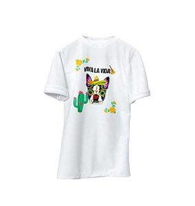 Camisa - Bulldog Caveira Mexicana
