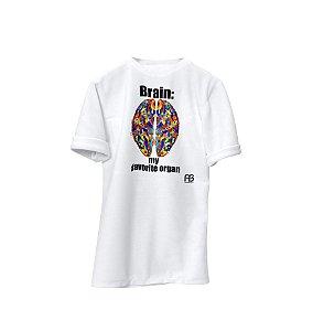 Camisa - Brain My Favorite Organ