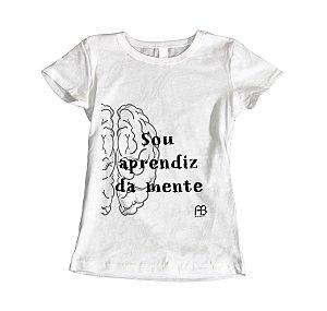 Camisa Baby Look - Sou Aprendiz da Mente