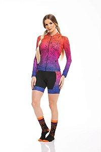 Camisa Ciclismo Sport Longa Fade Z-Nine