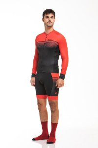 Camisa Ciclismo Sport Longa Brake Z-Nine